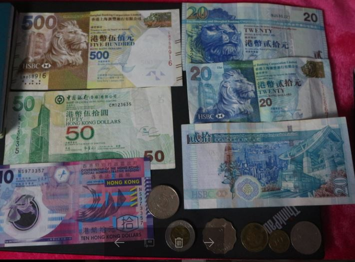 hongkong money