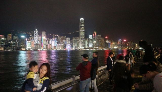 hongkong river side
