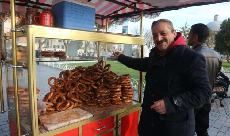 pedagang simit