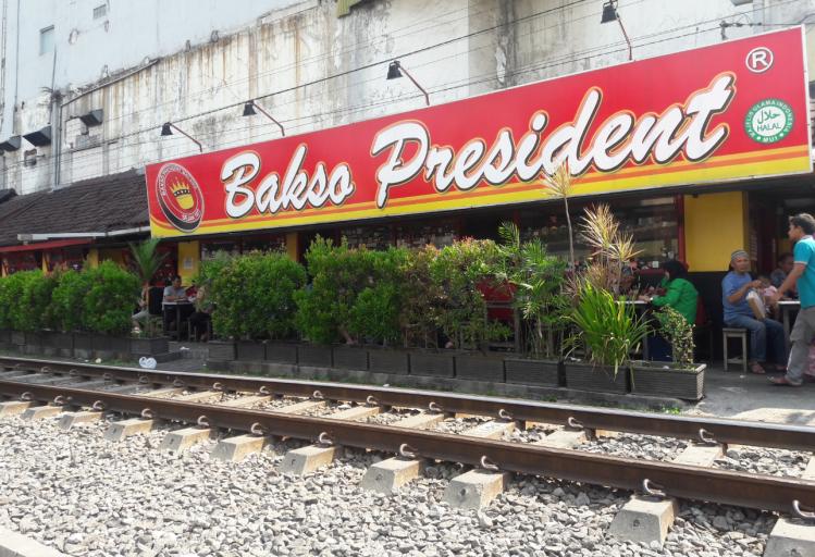 bakso president