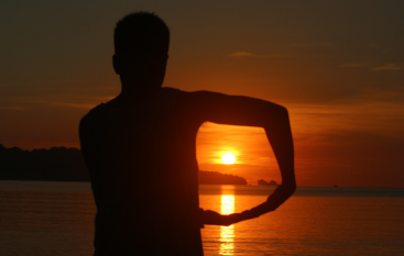 sunset peucang3
