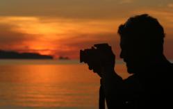 sunset peucang5