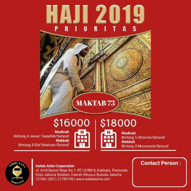 01 Paket Haji 2019 USD1600